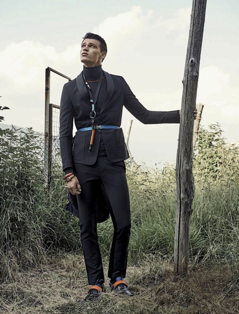GQ ITALIA Filip Hrivnak by Tim Clark. Fall 2016, www.imageamplified.com, Image Amplified1