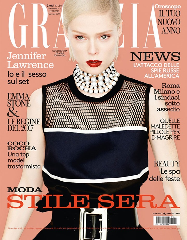 GRAZIA ITALIA Coco Rocha by Liu Zongyuan. Hubert Chen, December 2016, www.imageamplified.com, Image Amplified1