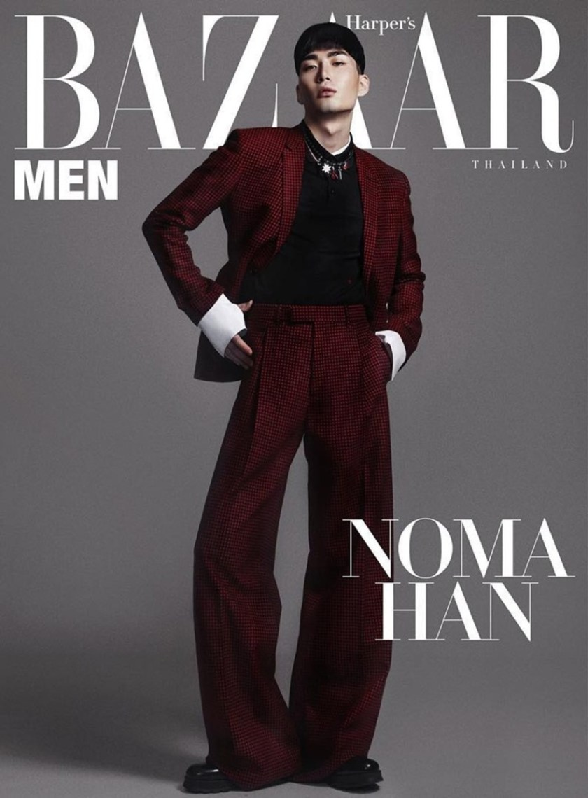 HARPER'S BAZAAR MEN THAILAND Noma Han by Mikey Asanin. Nan Nista Permpoon, Fall 2016, www.imageamplified.com, Image Amplified1