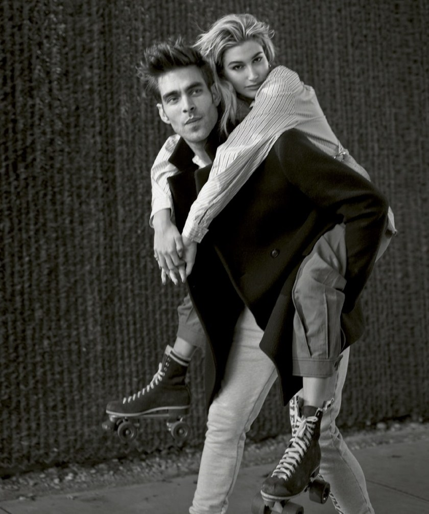 HARPER'S BAZAAR SPAIN Hailey Baldwin & Jon Kortajarena by Thomas Whiteside. Juan Cebrian, January 2017, www.imageamplified.com, Image amplified13