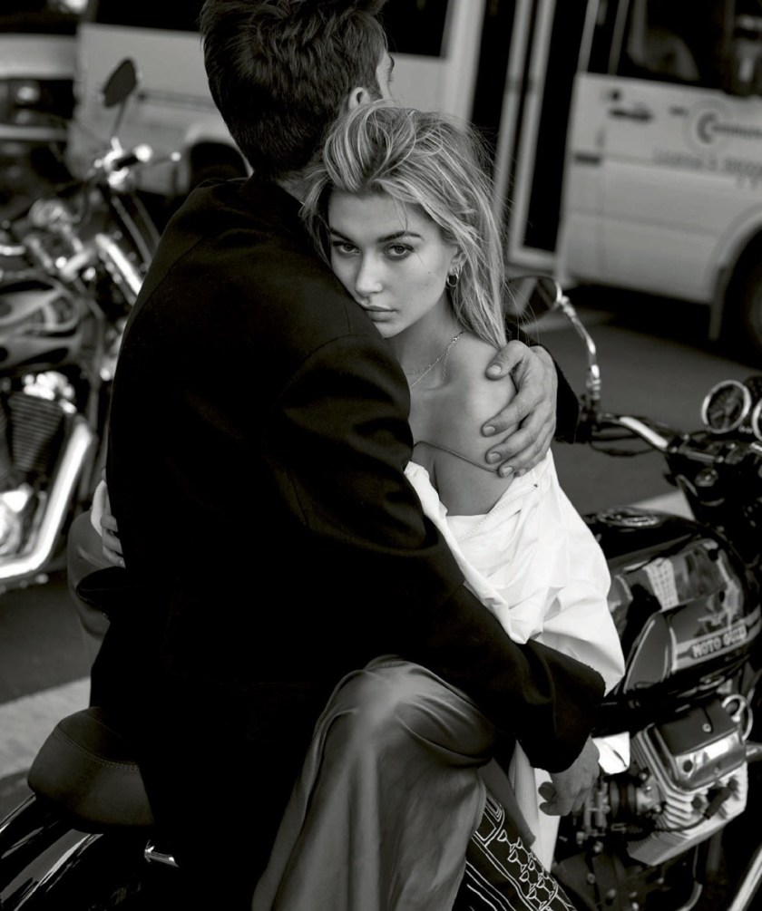 HARPER'S BAZAAR SPAIN Hailey Baldwin & Jon Kortajarena by Thomas Whiteside. Juan Cebrian, January 2017, www.imageamplified.com, Image amplified3