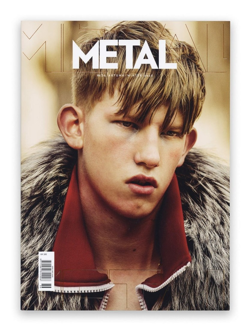 METAL MAGAZINE Connor Newall by Teddy Iborra Wicksteed. Fall 2016, www.imageamplified.com, Image Amplified3