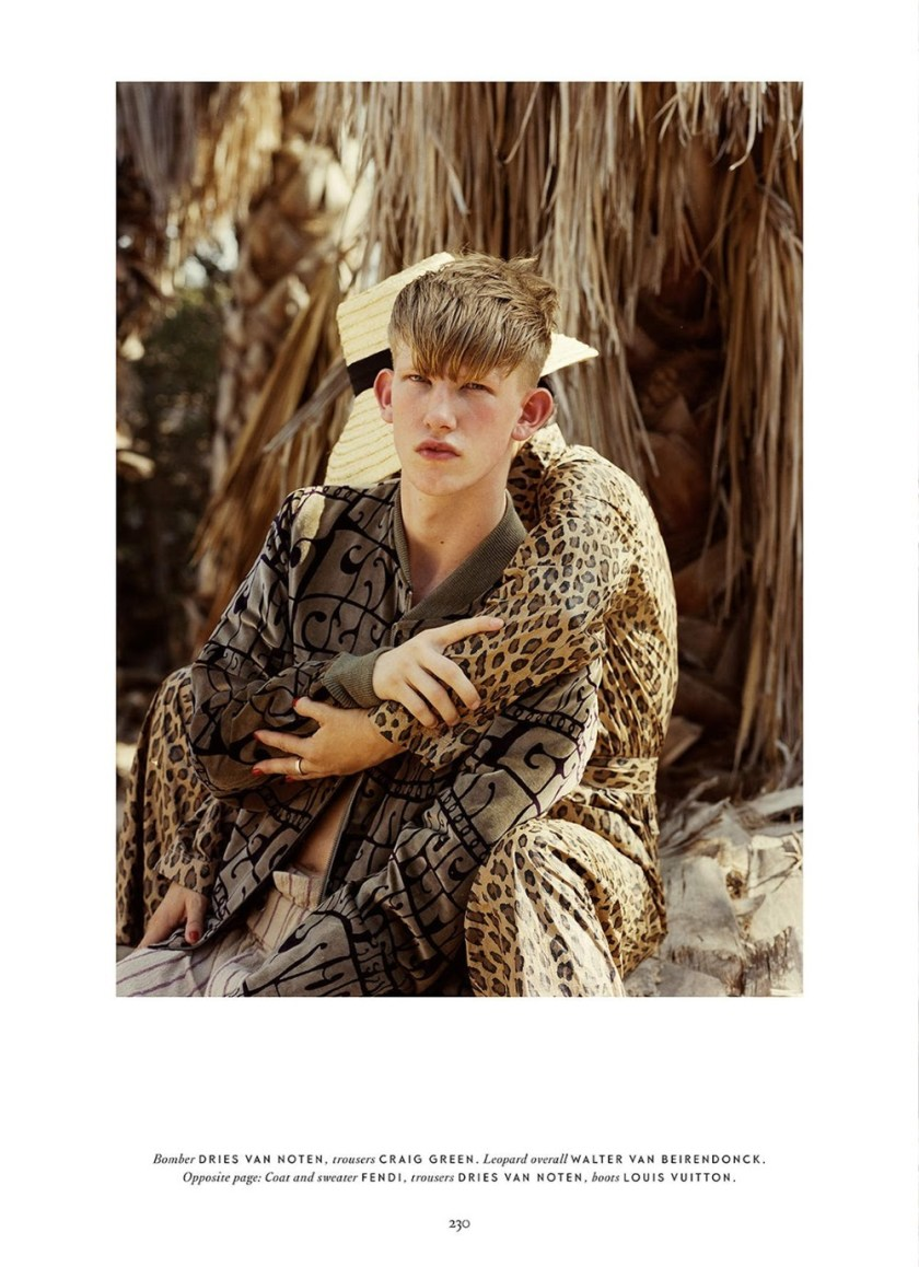 METAL MAGAZINE Connor Newall by Teddy Iborra Wicksteed. Fall 2016, www.imageamplified.com, Image Amplified8