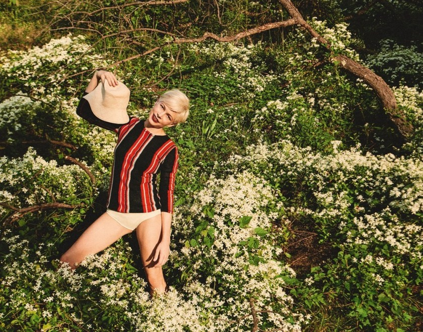 PORTER MAGAZINE Michelle Williams by Ryan McGinley. Kate Young, Fall 2016, www.imageamplified.com, Image Amplified15