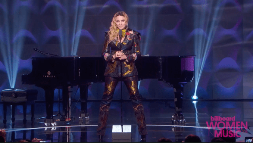 Madonna's speech as Billboard's Woman of the Year was powerful and timely.