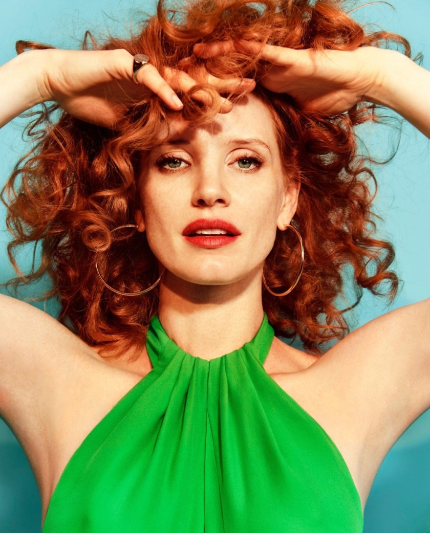 THE EDIT Jessica Chastain by Chris Colls. Tracy Taylor, December 2016, www.imageamplified.com, Image Amplified1