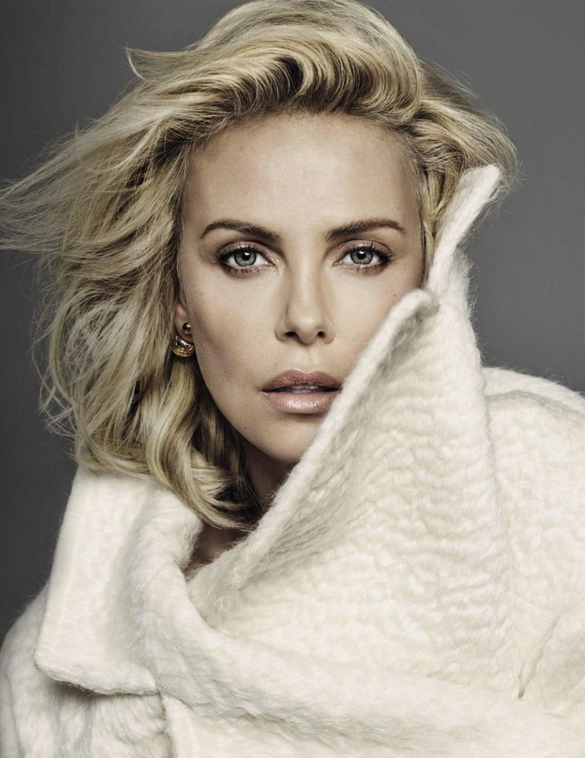 VANITY FAIR ITALIA Charlize Theron by Alique. Leslie Freman, November 2016, www.imageamplified.com, image Amplified1