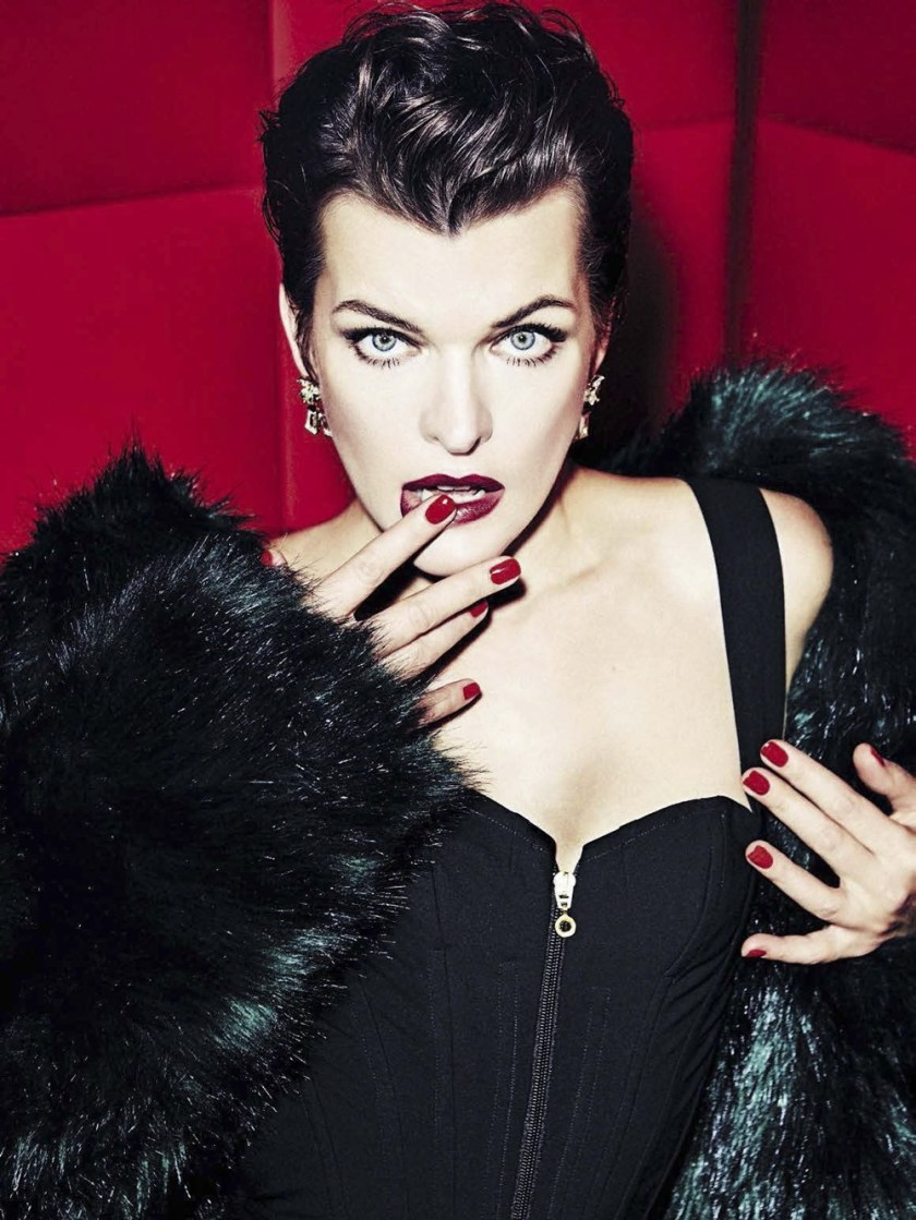 VANITY FAIR ITALIA Milla Jovovich by Ellen von Unworthy. Gaelle Bon, December 2016, www.imageamplified.com, Image Amplified2