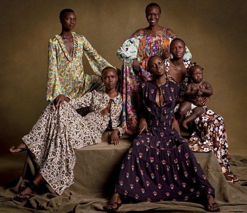 VOGUE MAGAZINE Home of the Brave by Inez & Vinoodh. Camilla Nickerson, January 2017, www.imageamplified.com, Image Amplified3