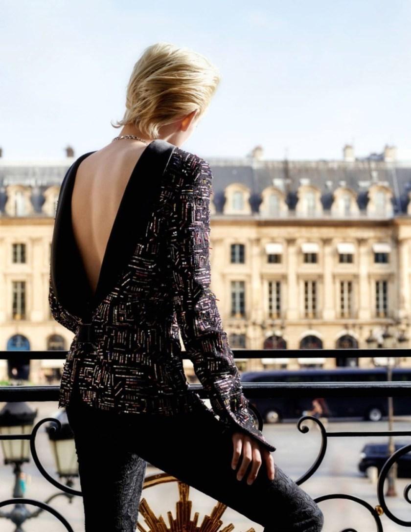 VOGUE PARIS Kristen Stewart by Karl Lagerfeld. Emmanuelle Alt, January 2017, www.imageamplified.com, Image Amplified1