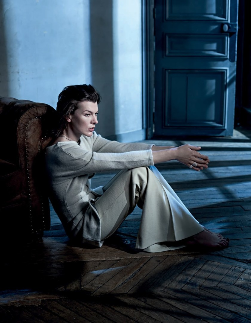 VOGUE PORTUGAL Milla Jovovich by Frederico Martins. Ana Campos, December 2016, www.imageamplified.com, Image Amplified2