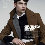 VOGUE UKRAINE: Hannes Gobeyn by Robin Galiegue