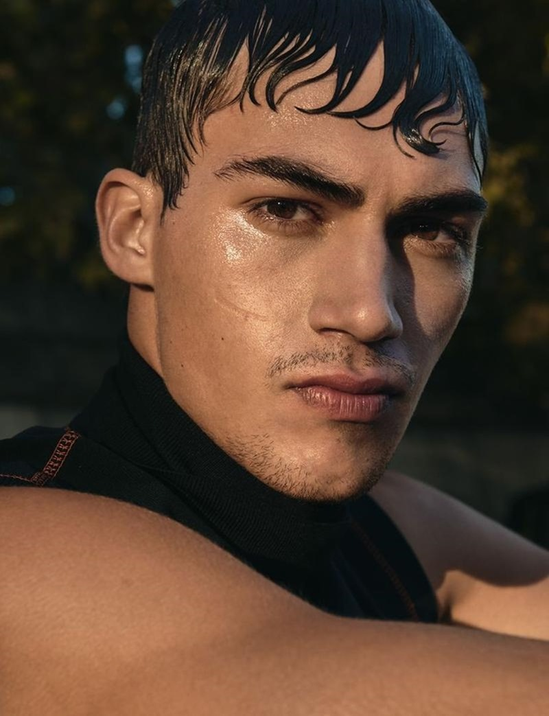WONDERLAND MAGAZINE Alessio Pozzi by Antoine Harinthe. Thomas Davis, December 2016, www.imageamplified.com, Image Amplified2