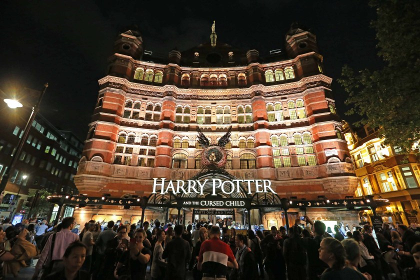 The Cursed Child opened in London's West End in June 2016. Image Amplified www.imageamplified.com