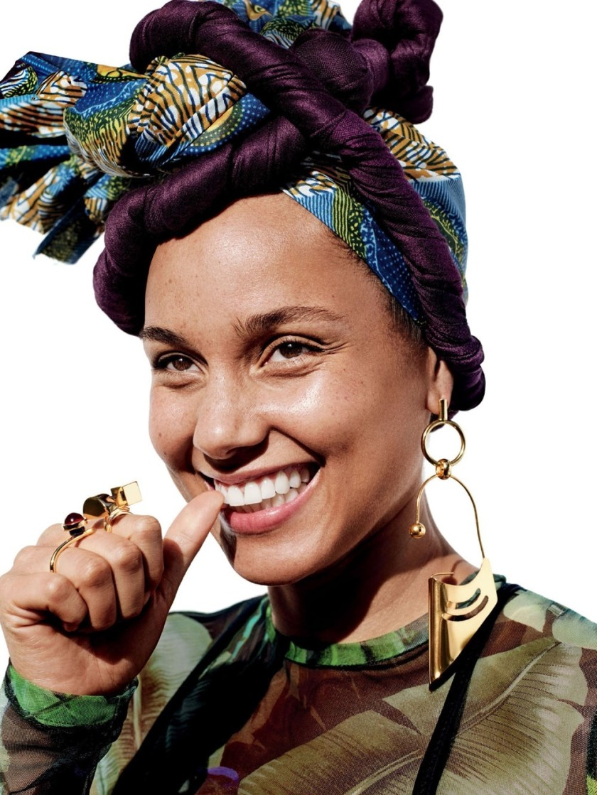 ALLURE MAGAZINE Alicia Keys by Paola Kudacki. Patrick Mackie, February 2017, www.imageamplified.com, Image Amplified1