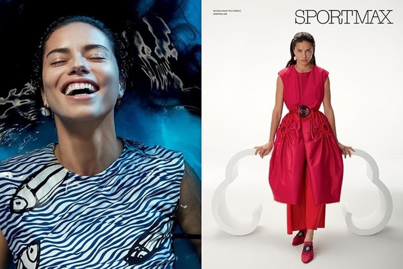 CAMPAIGN Adriana Lima for Sportmax Spring 2017 by Roe Ethridge. Marie Chaix, www.imageamplified.com, Image Amplified3