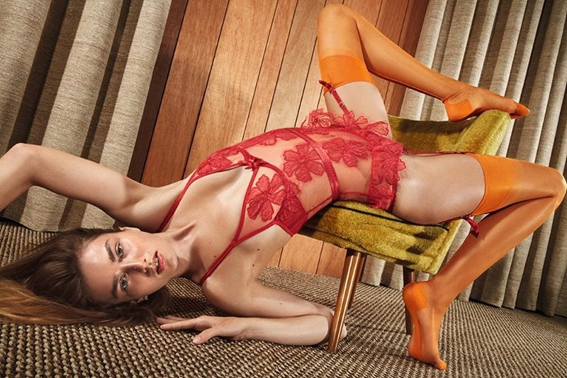 CAMPAIGN Andreea Diaconu for Agent Provocateur Spring 2017 by Mario Sorrenti. www.imageamplified.com, image amplified6