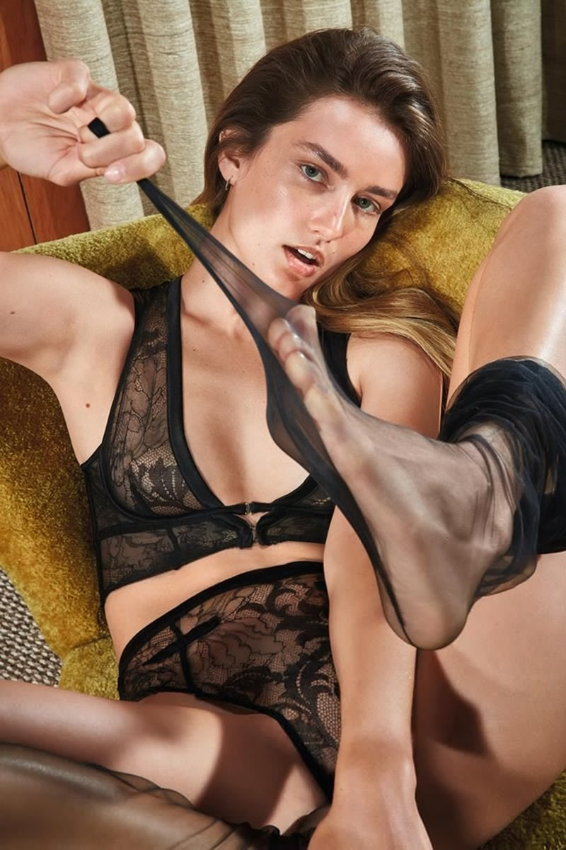 CAMPAIGN Andreea Diaconu for Agent Provocateur Spring 2017 by Mario Sorrenti. www.imageamplified.com, image amplified9