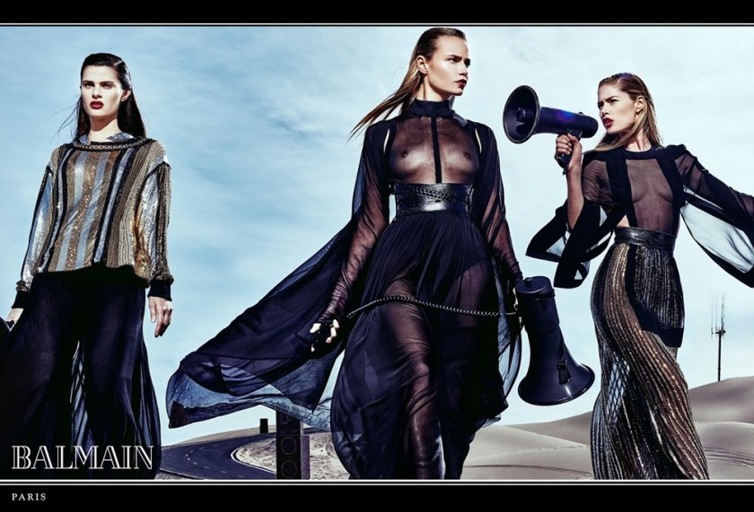 CAMPAIGN Balmain Spring 2017 by Steven Klein. www.imageamplified.com, Image Amplified8