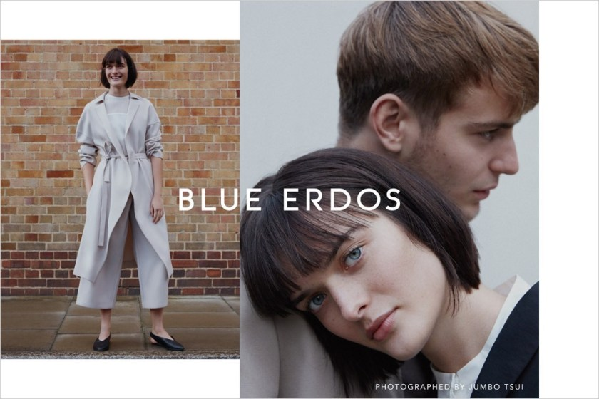 CAMPAIGN Ben Allen & Sam Rollinson for Blue Erdos Spring 2017 by Jumbo Tsui. Verity Parker, www.imageamplified.com, image Amplified6