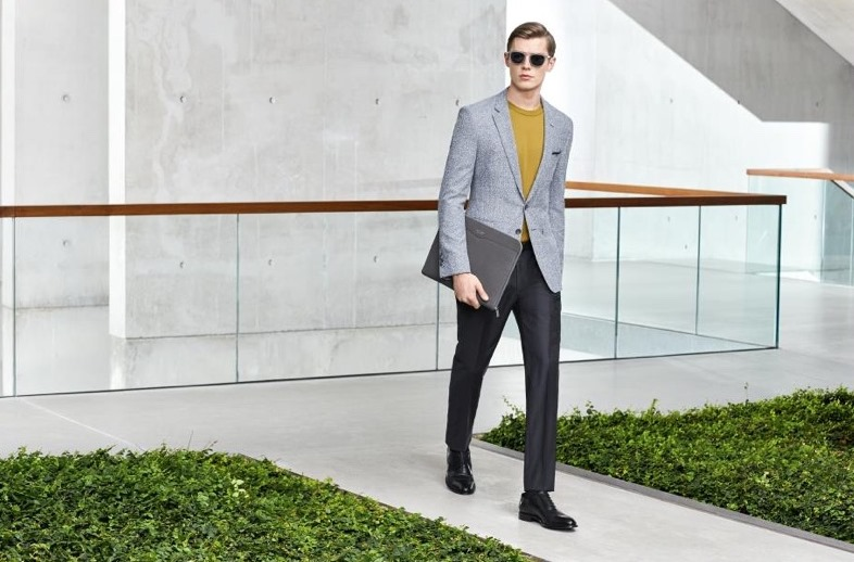 CAMPAIGN Clement Chabernaud & Janis Ancens for BOSS Hugo Boss Pre-Spring 2017. www.imageamplified.com, Image Amplified4