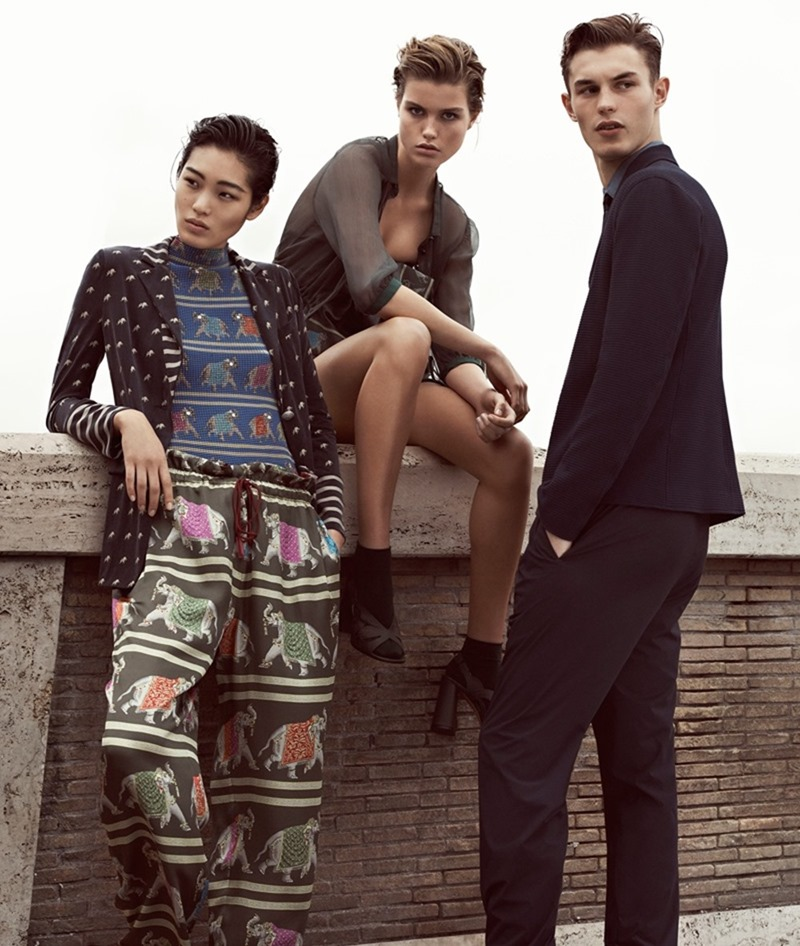 CAMPAIGN Emporio Armani Spring 2017 by Lachlan Bailey. www.imageamplified.com, Image amplified2