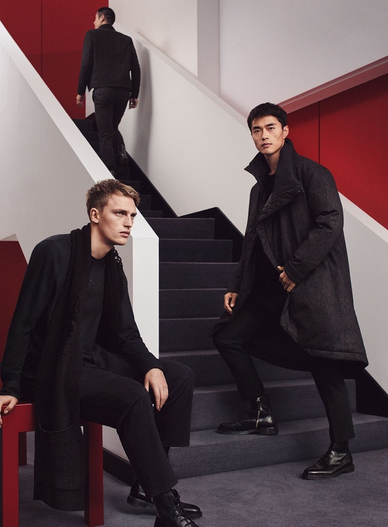 CAMPAIGN Has Yun Ziang, Victor Nylander & Zhao Lei for Zara Man's Chinese New Year Collection by Gregory Harris. www.imageamplified.com, Image Amplified5