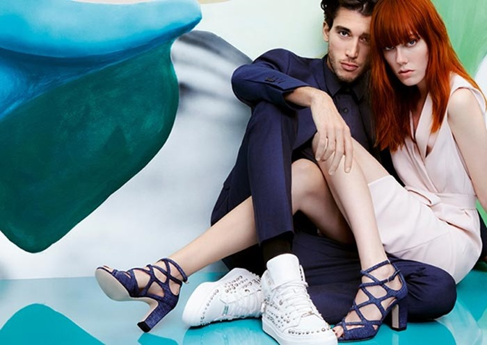 CAMPAIGN Lou Gaillot & Kiki Willems for Jimmy Choo Spring 2017 by Daniel Jackson. www.imageamplified.com, Image Amplified3