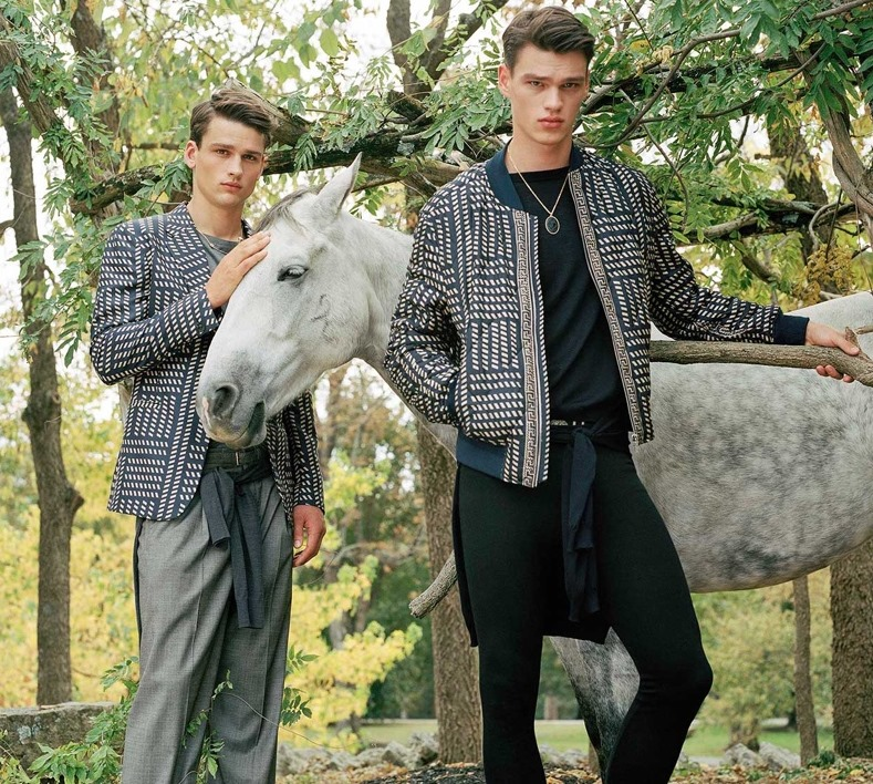 CAMPAIGN Versace Spring 2017 by Bruce Weber. David Bradshaw, www.imageamplified.com, Image Amplified2