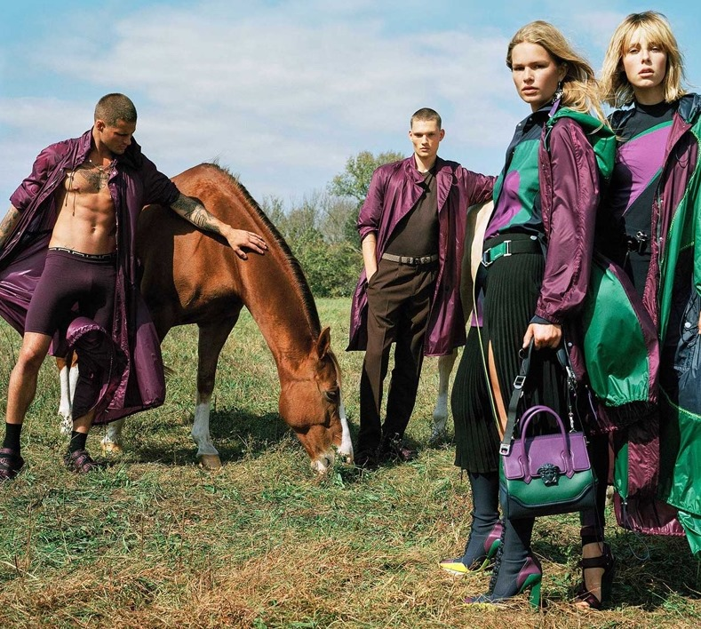 CAMPAIGN Versace Spring 2017 by Bruce Weber. David Bradshaw, www.imageamplified.com, Image Amplified5