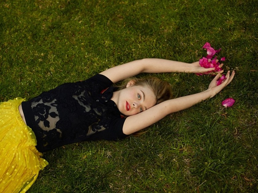 ELLE UK Elle Fanning by Thomas Whiteside. Alison Edmond, February 2017, www.imageamplified.com, Image Amplified6