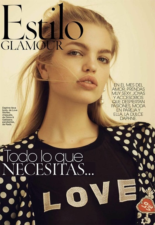 GLAMOUR SPAIN Daphne Groeneveld by Nick Hudson. February 2017, www.imageamplified.com, Image Amplified1