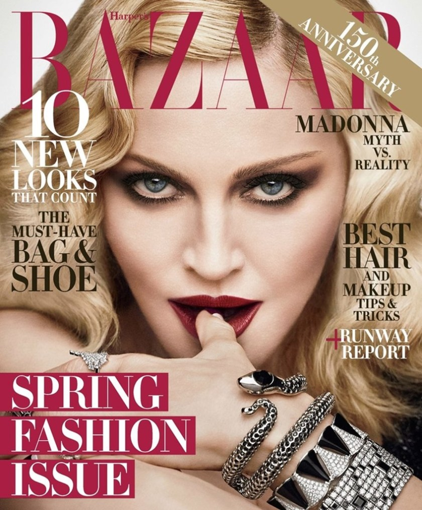 HARPER'S BAZAAR MAGAZINE Madonna by Luigi & Iango. Arianne Phillips, February 2017, www.imageamplified.com, Image amplified (12)