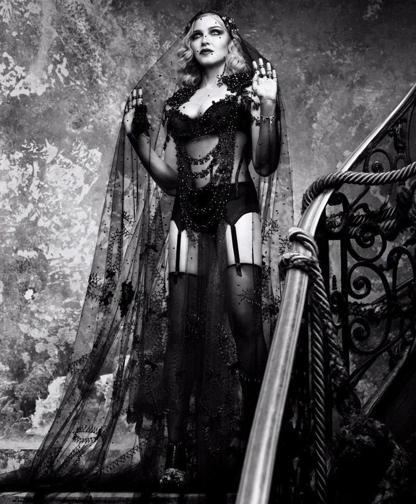 HARPER'S BAZAAR MAGAZINE Madonna by Luigi & Iango. Arianne Phillips, February 2017, www.imageamplified.com, Image amplified (3)
