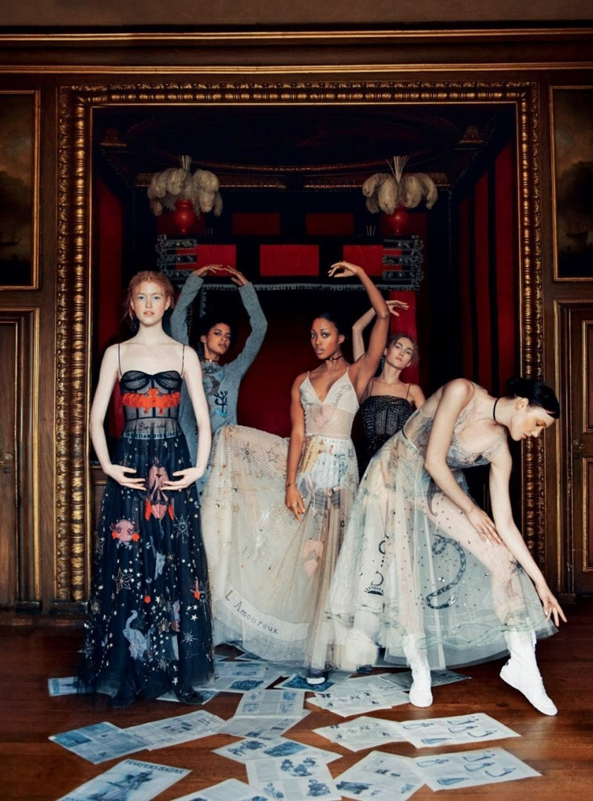 HARPER'S BAZAAR UK The Collections by Erik Madigan Heck. Leith Clark, February 2017, www.imageamplified.com, Image Amplified26