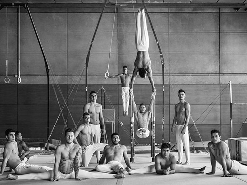 ICON MAGAZINE Gimnastics Federation for the Olympics by Gorka Postigo. Nono Vazquez, January 2017, www.imageamplified.com, Image Amplified2