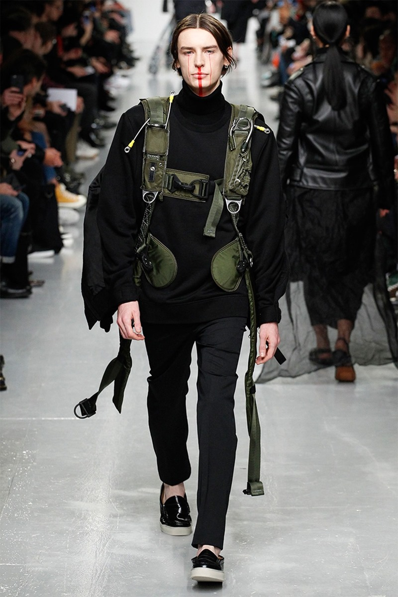 LONDON COLLECTION MEN Matthew Miller Fall 2017. www.imageamplified.com, Image Amplified15