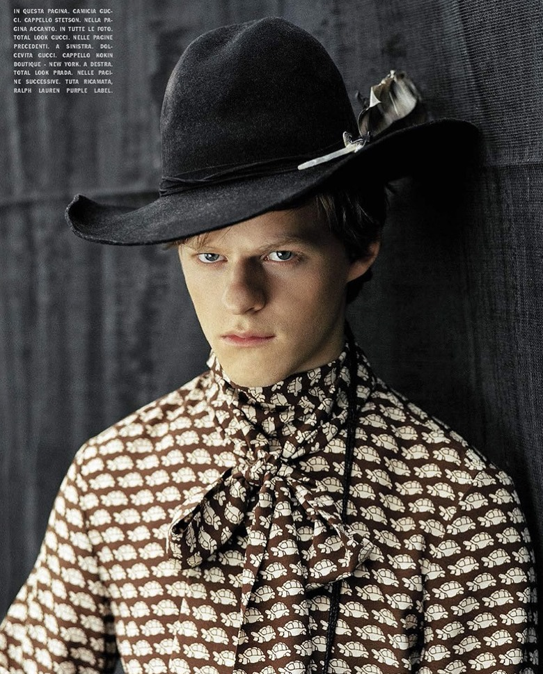 L'UOMO VOGUE Lucas Hedges by Bruce Weber. January 2017, www.imageamplified.com, image Amplified6