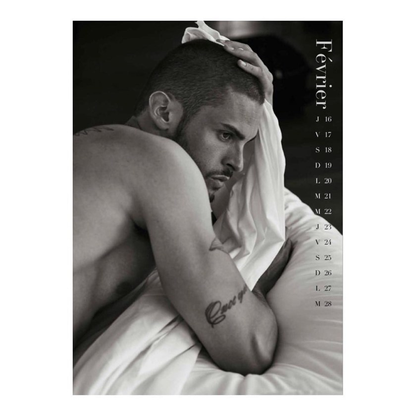MASCULINE DOSAGE Baptiste Giabiconi for Le Calendrier 2017 by Mariano Vivanco. www.imageamplified.com, Image Amplified2