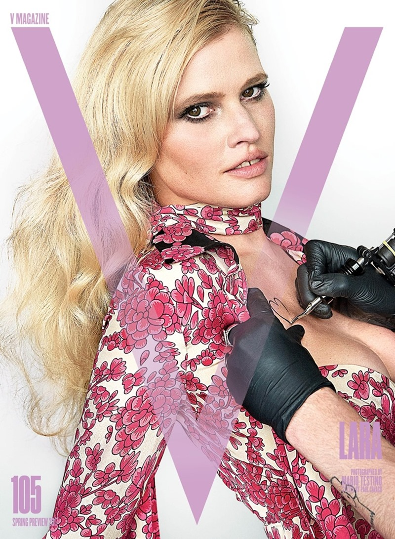 PREVIEW Lara Stone, Joan Smalls, Carolyn Murphy, Amber Valletta & Ellen Rosa for V Magazine, Spring 2017 by Mario Testing. Paul Cavaco, www.imageamplified.com, Image Amplified6