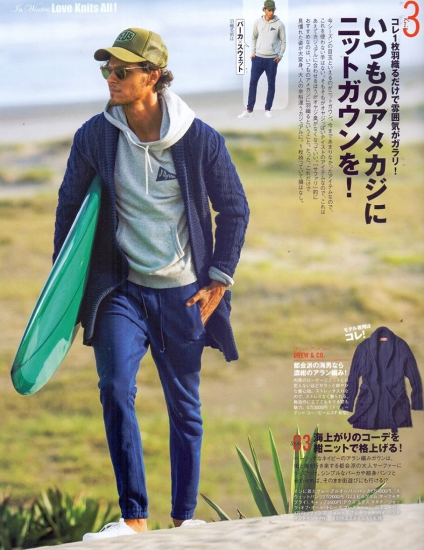 SAFARI MAGAZINE Bruno Corteletti by Kentaro Kamata & Tomoo Syoju. Hidenori Asai, January 2017, www.imageamplified.com, Image Amplified4
