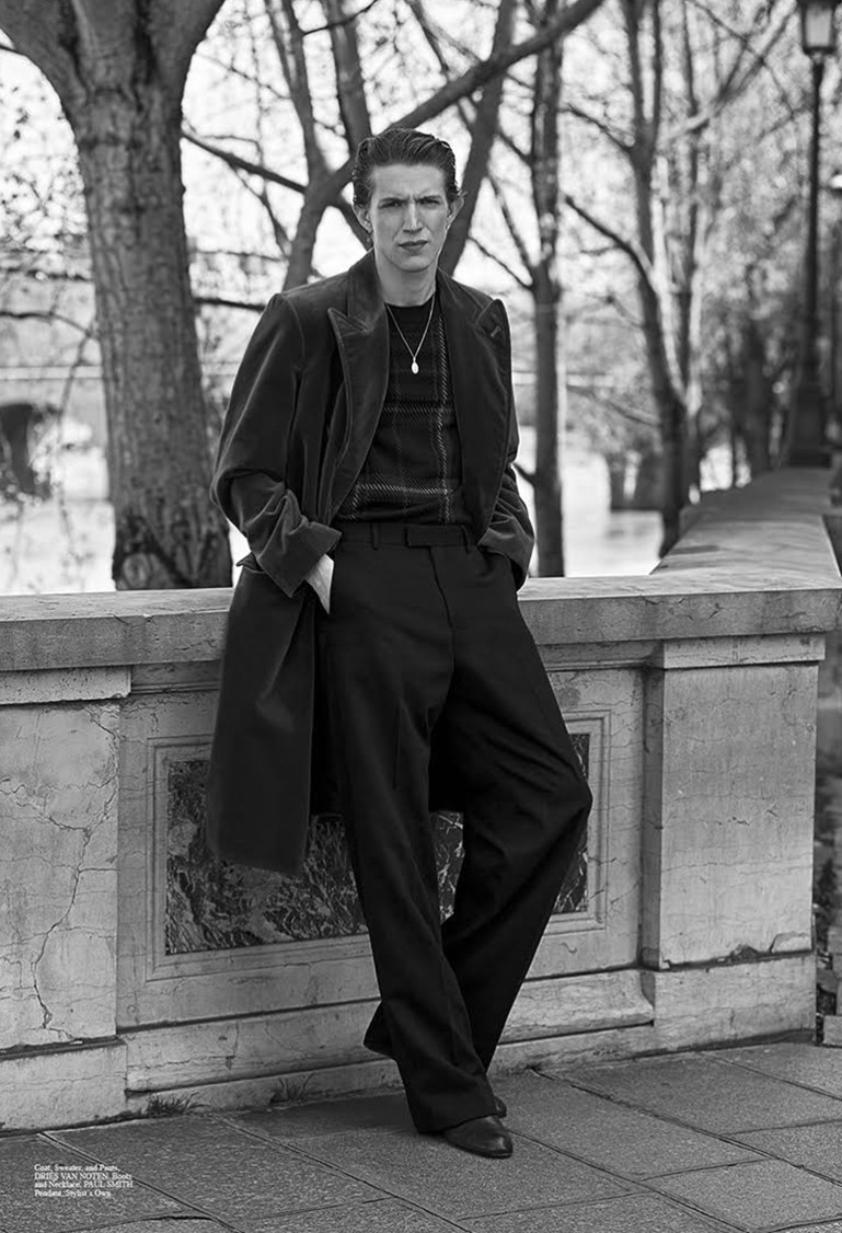 SUMMERWINTER HOMME Xavier Buestel by Christopher Ferguson. Christopher Campbell, January 2017, www.imageamplified.com, Image amplified4