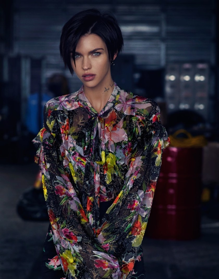 THE EDIT Ruby Rose by Drew Jarrett. Tracy Taylor, January 2017, www.imageamplified.com, Image Amplified3