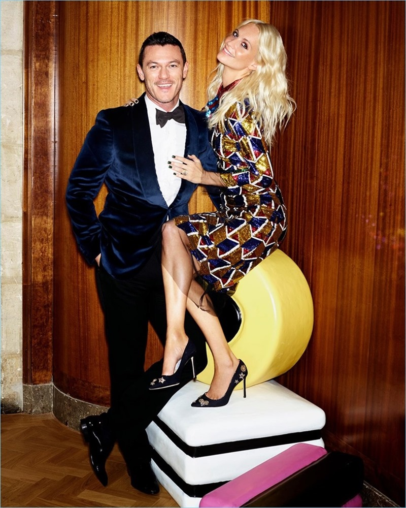 THE SUNDAY TIMES STYLE Luke Evans & Poppy Delevigne by Aitken Jolly. Flossie Saunders, Michael Hennegan, Fall 2016, www.imageamplified.com, image Amplified3