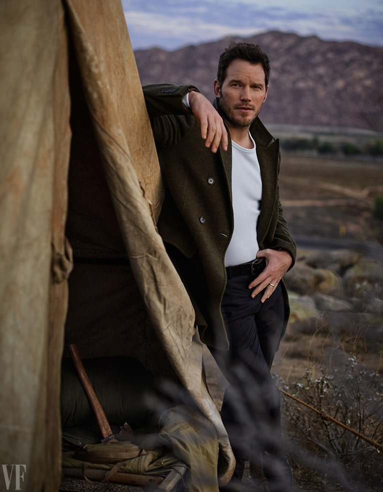 VANITY FAIR MAGAZINE Chris Pratt by Mark Seliger. February 2017, www.imageamplified.com, Image amplified7