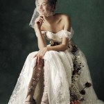 VOGUE ITALIA SPOSA: Marylou Moll by Kiki Xue