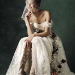 VOGUE ITALIA SPOSA: Marylou Moll by Kiki Xue