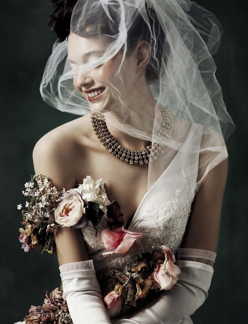 VOGUE ITALIA SPOSA Marylou Moll by Kiki Xue. Elisa Zaccanti, January 2017, www.imageamplified.com, Image Amplified2