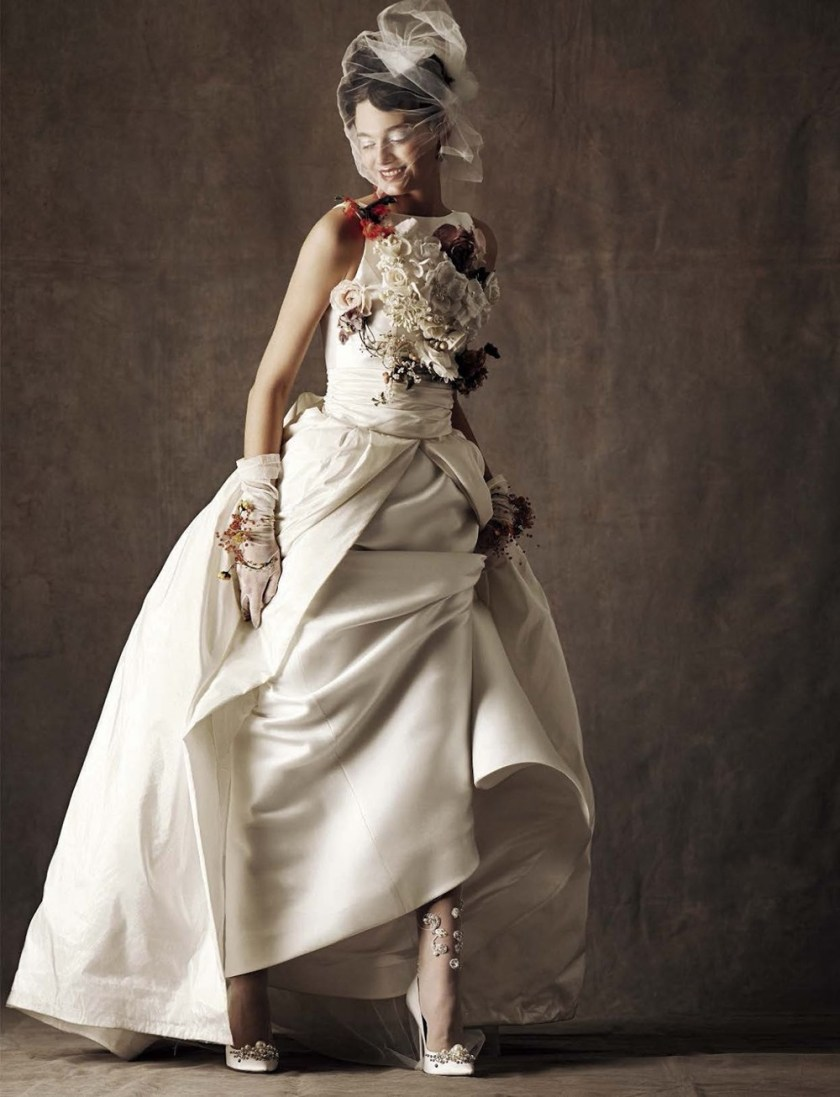 VOGUE ITALIA SPOSA Marylou Moll by Kiki Xue. Elisa Zaccanti, January 2017, www.imageamplified.com, Image Amplified3