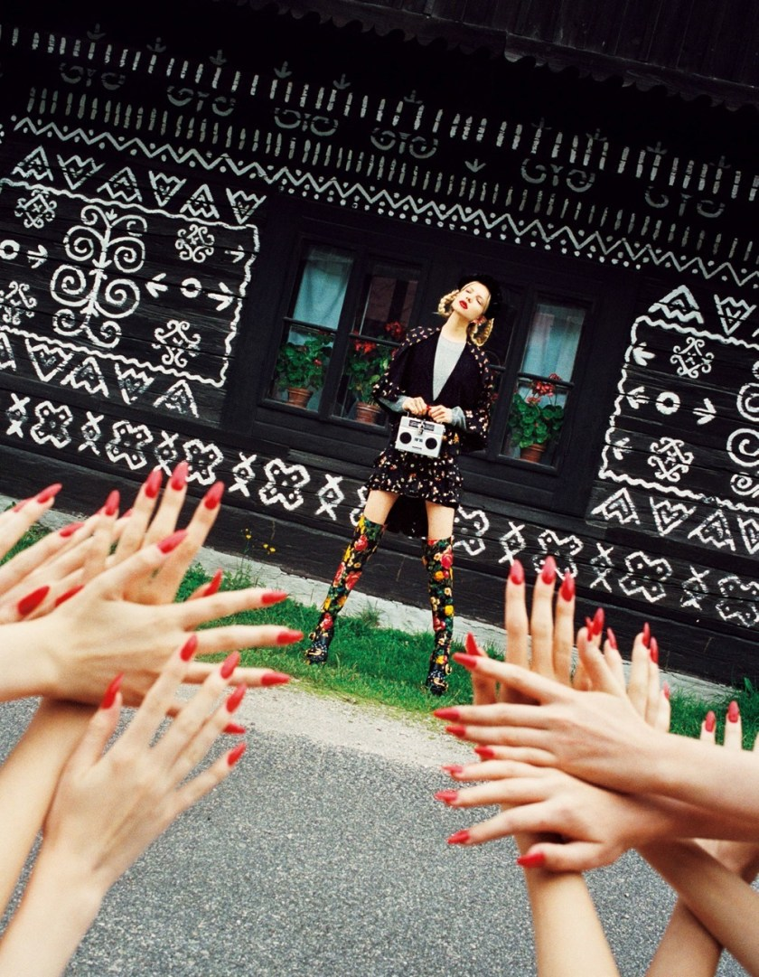 VOGUE JAPAN It Takes a Village by Michal Pudelka. Aurora Sansone, March 2017, www.imageamplified.com, Image Amplified7